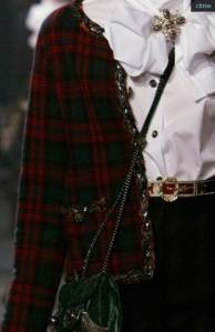 Chanel plaid jacket early fall 2013