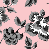 Fleurs_de_Provence___Black_and_White_on_Dauphine___Peacoquette_Designs___Copyright_2014_shop_thumb
